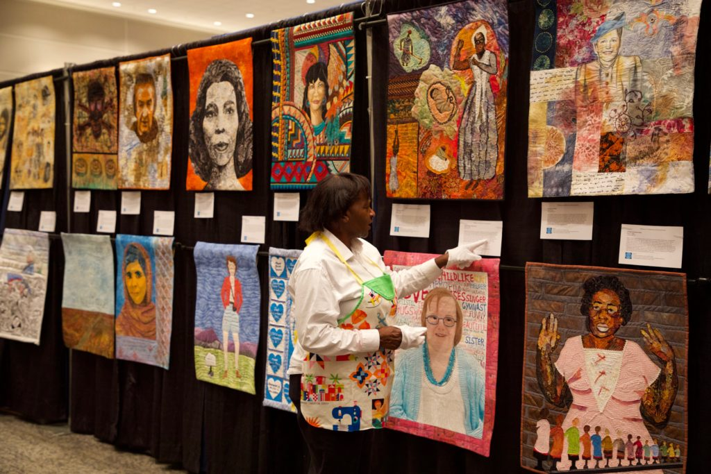 Special Quilt Exhibit HERstory Quilts