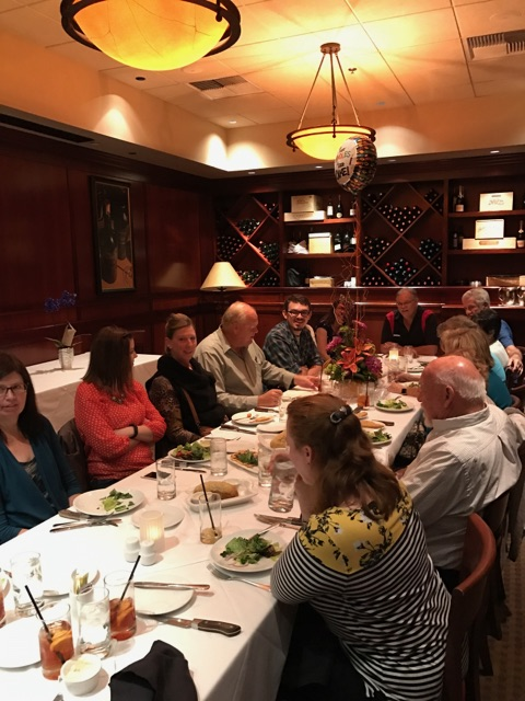 80th Birthday dinner at Flemings Prime Steakhouse and Wine Bar