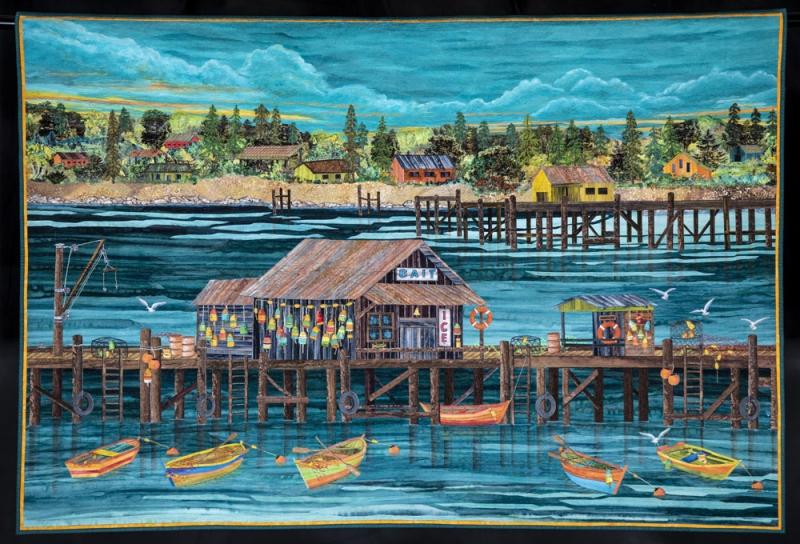art quilt Road to California Quilt Show