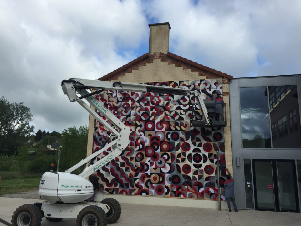 Giant Quilt from France Patchwork