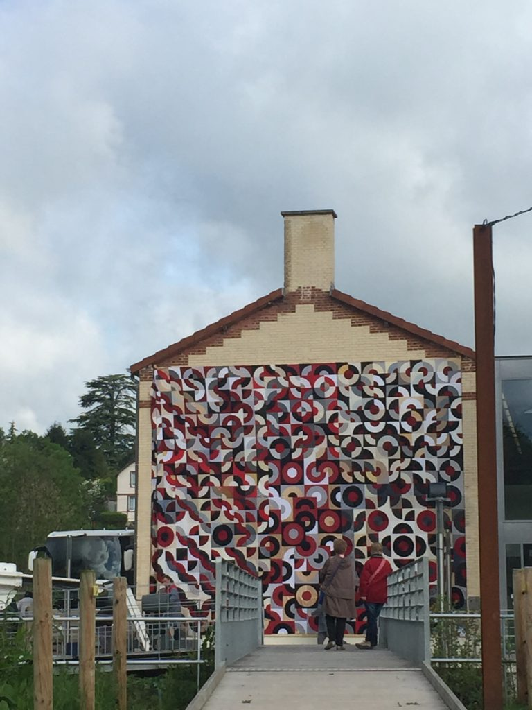 Giant Quilt from France Patchwork3