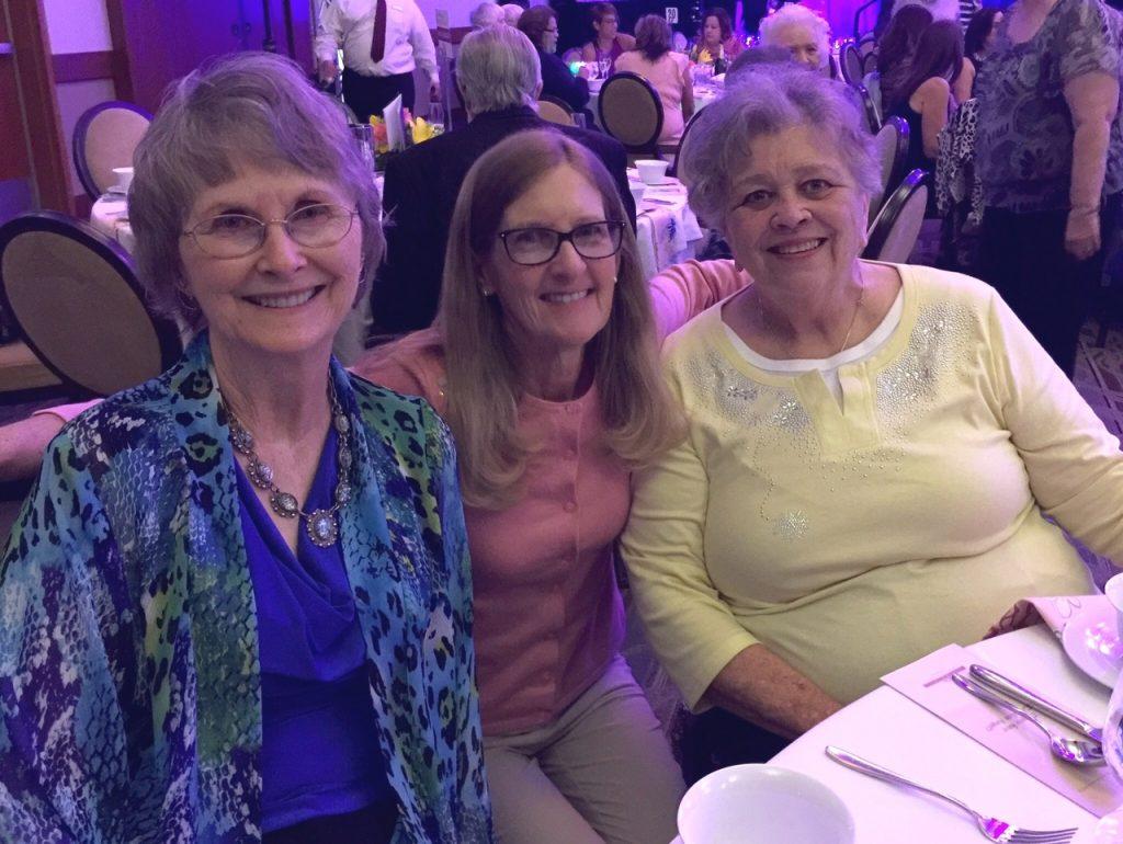 Elainne, LaVella, and Carolyn