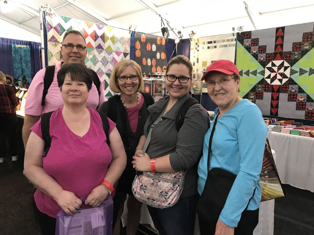 quilt family outing quilt show