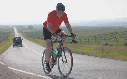 John_Flynn bike riding