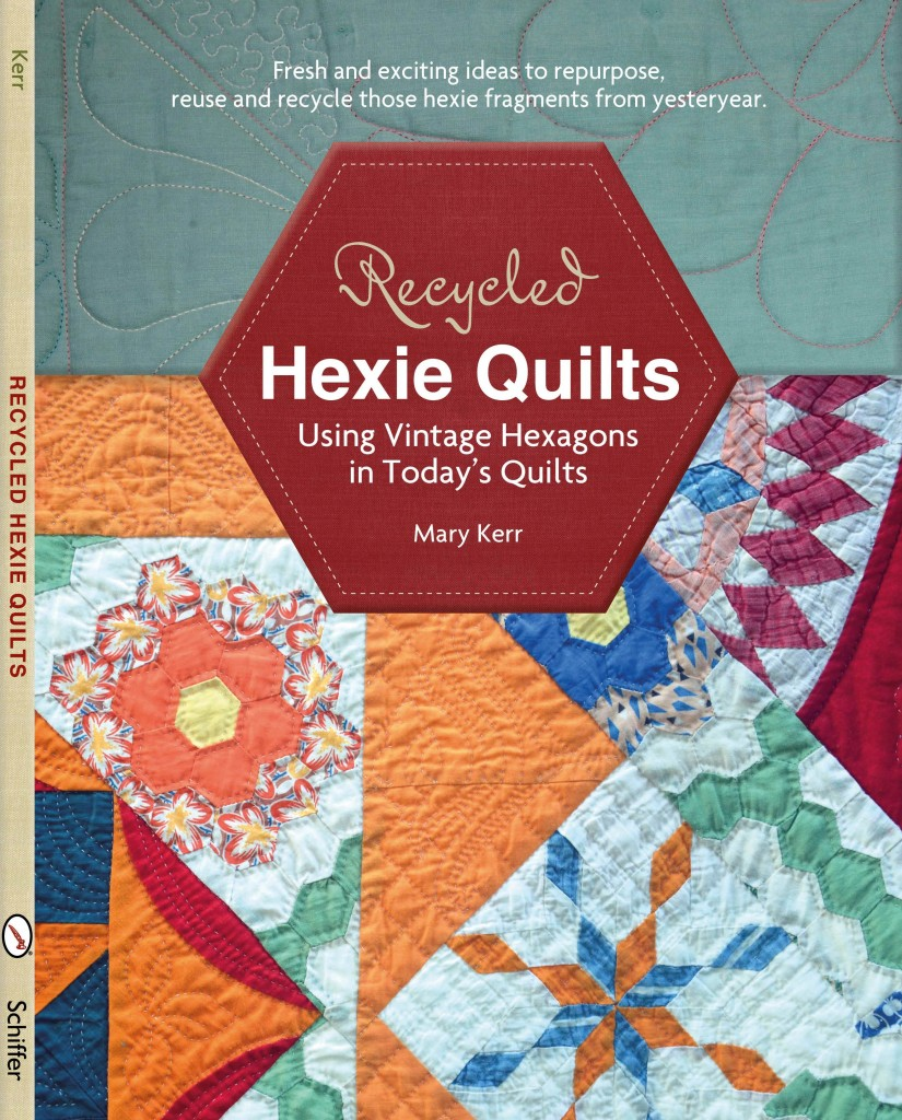 MK Recycled Hexie Quilt cover (2)