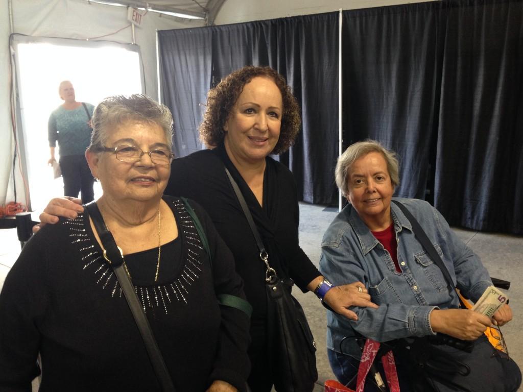 Maria, Tere, and Antonia