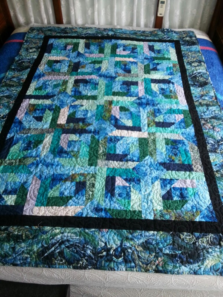Quilt by Millenial Kim from simi Valley